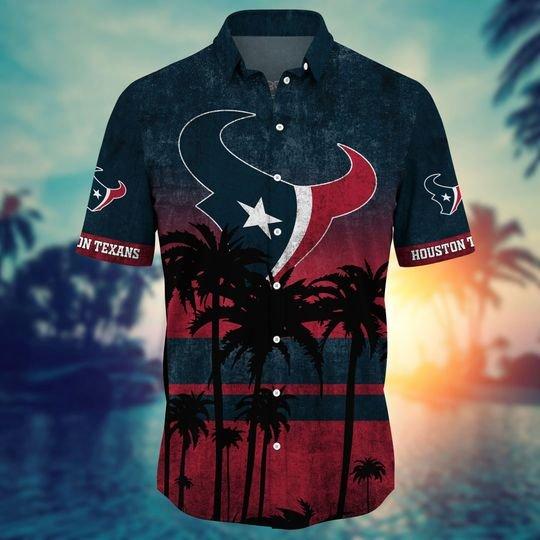 Houston texans NFL hawaii shirt short - BBS