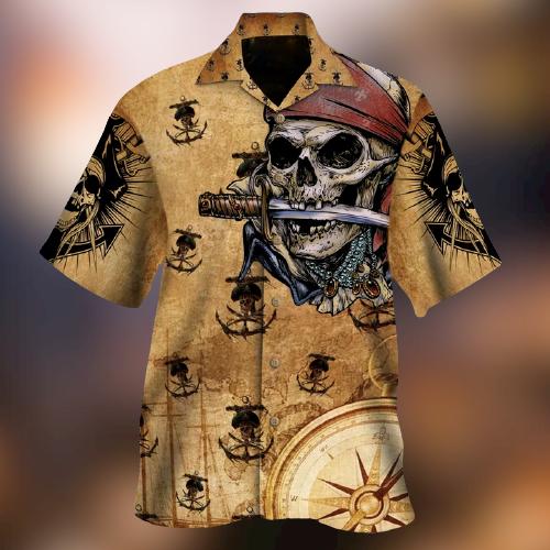 Pirates Of The Sea Hawaiian Shirt - LIMITED EDITION