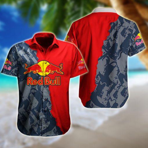 Red Bull Hawaiian Shirt And Short - BBS