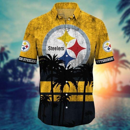 Pittsburgh steelers NFL hawaii shirt short - BBS
