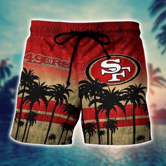 San francisco 49ers NFL hawaii shirt short - BBS