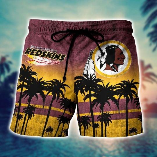 Washington redskins NFL hawaii shirt and short - BBS