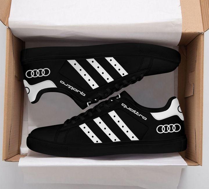 Audi Quattro Stan Smith Shoes Black Version