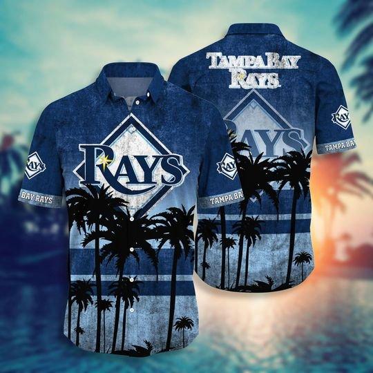 Tampa bay rays MLB hawaii shirt short - BBS