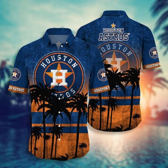 Houston astros MLB hawaii shirt short - BBS