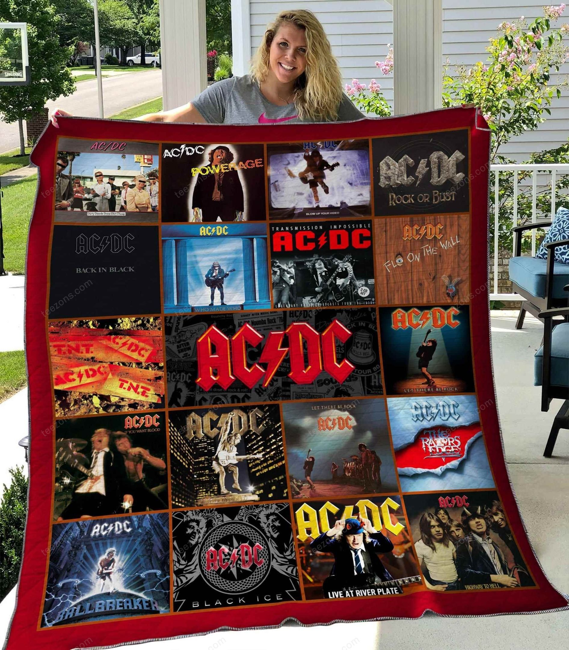 AC DC Collect Quilt