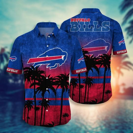 Buffalo bills NFL hawaii shirt short - BBS