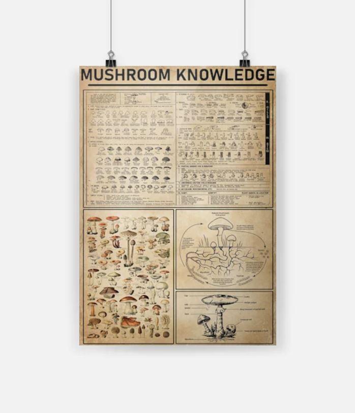 Mushroom-knowledge-poster