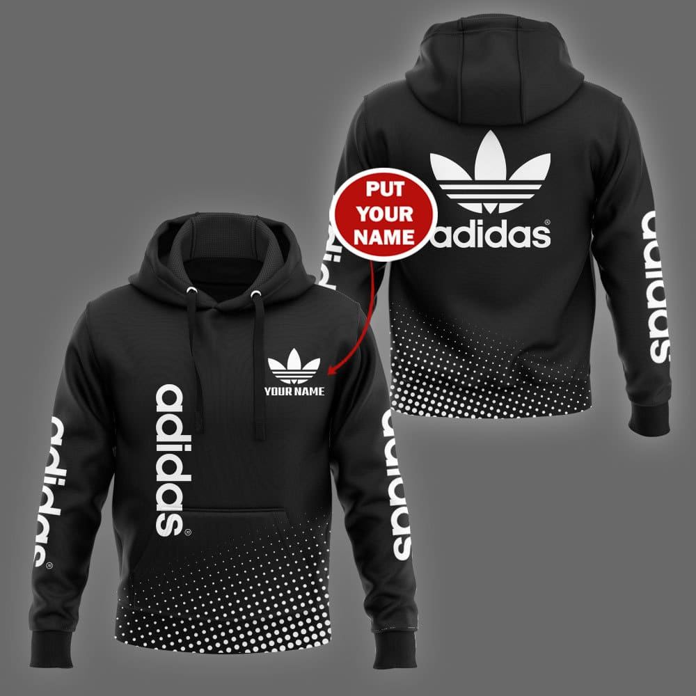 Adidas custom name 3d hoodie and shirt - LIMITED EDITION