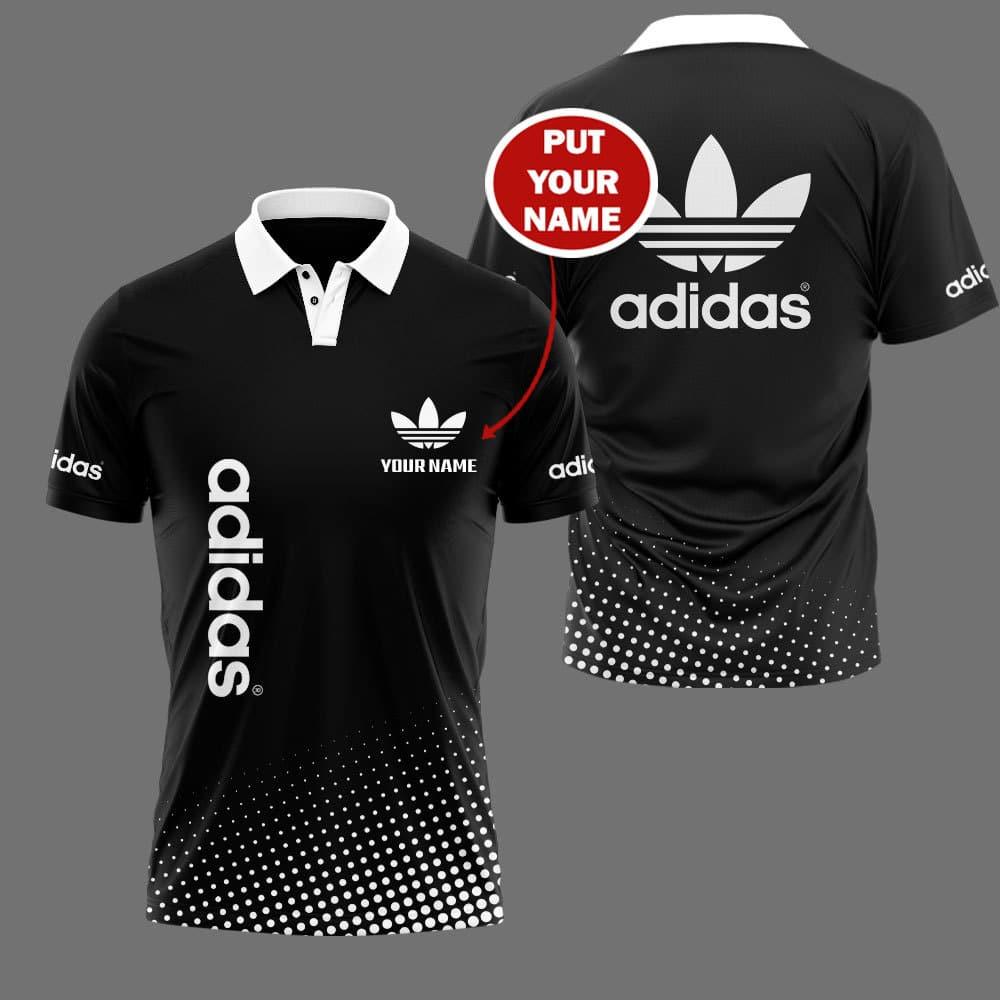 Adidas custom name 3d Polo shirt - LIMITED EDITION
