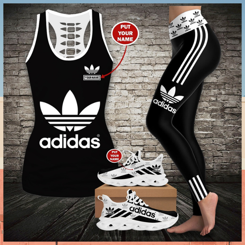 Adidas custom name tank top and legging - LIMITED EDITION