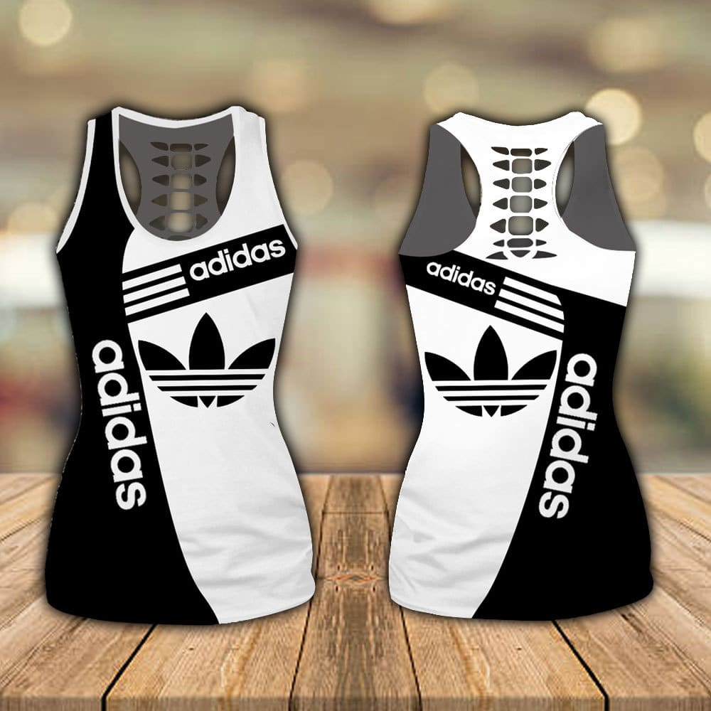 Adidas hollow tank top and legging - LIMITED EDITION