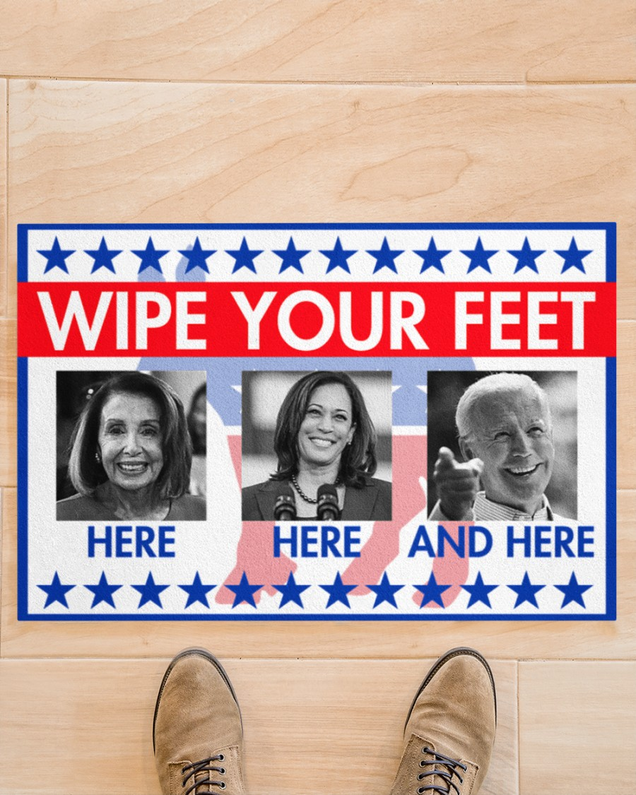American Flag Wipe your feet doormat - Picture 2