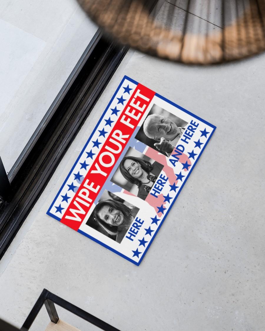 American Flag Wipe your feet doormat - Picture 3