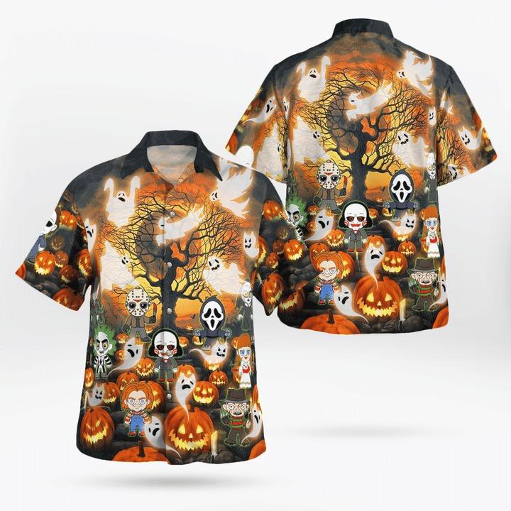 Another day another slay halloween hawaiian shirt