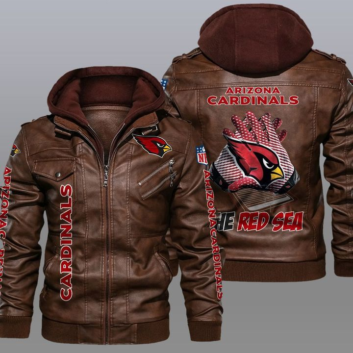 NFL Arizona Cardinals leather jacket - LIMITED EDITION