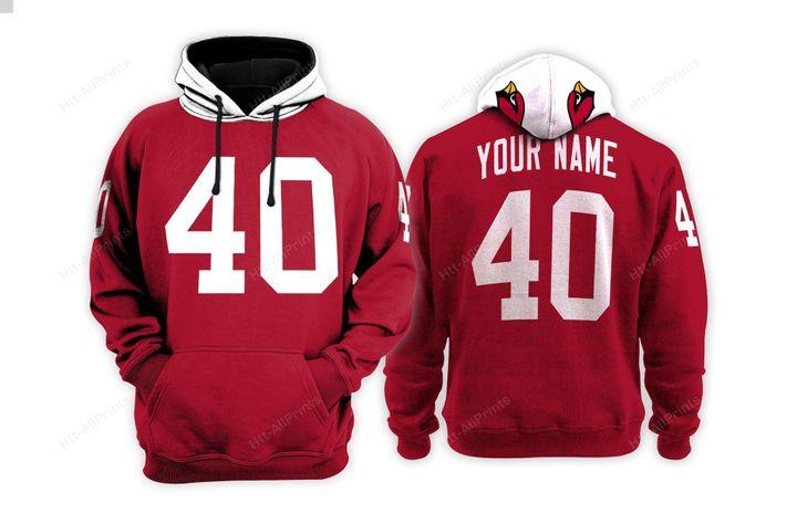 Arizona cardinals custom name hoodie - LIMITED EDITION