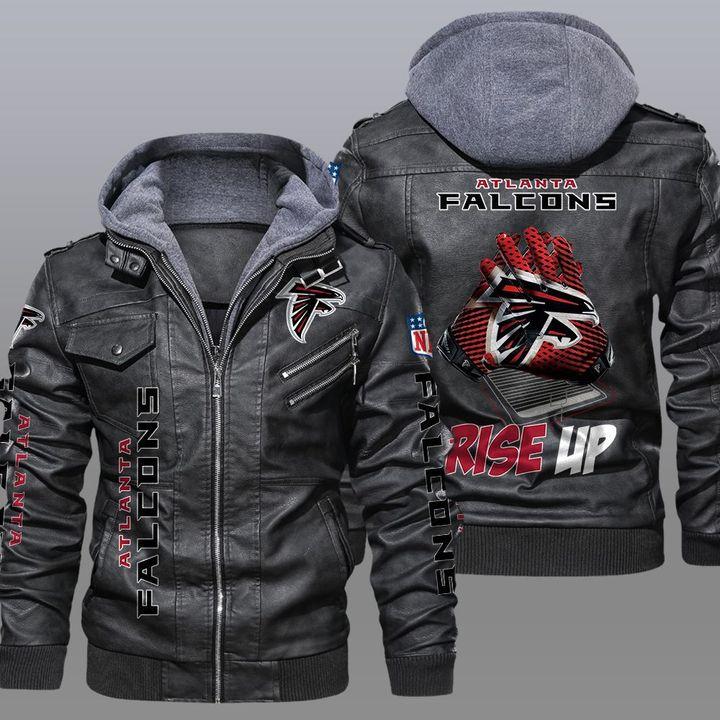 NFL Atlanta Falcons leather jacket - LIMITED EDITION