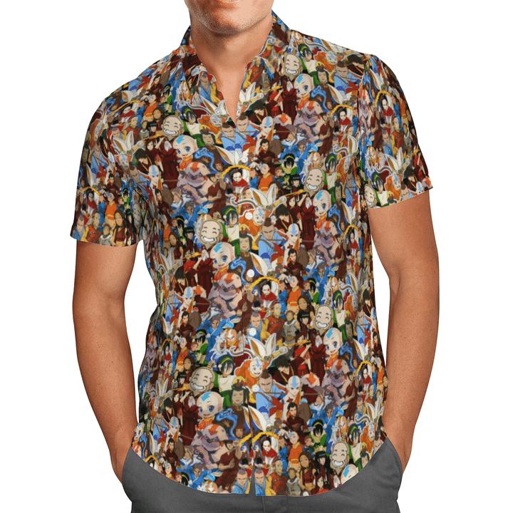 Avatar collection hawaiian shirt