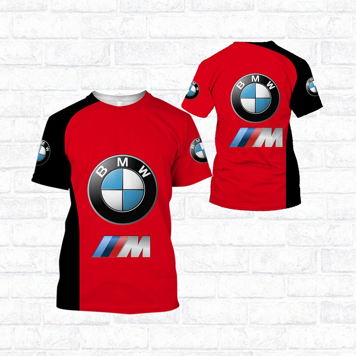 BMW 3d all over printed hoodie and t shirt - LIMITED EDITION