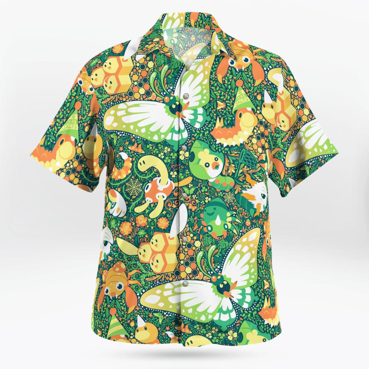 Bug Pokemon Hawaiian shirt - LIMITED EDITION