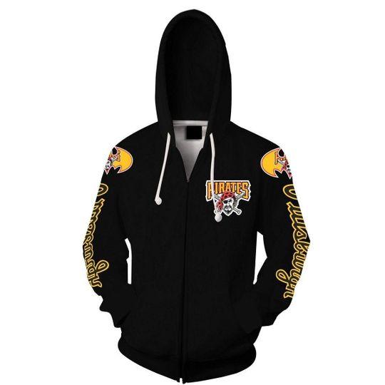 Bat Man Pittsburgh pirates 3d all over print hoodie2