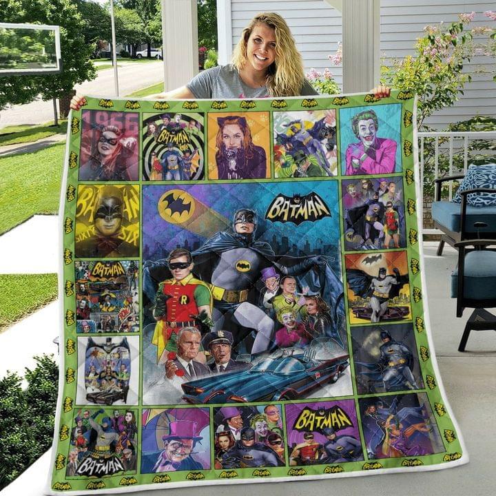Batman 1966 tv series quilt blanket