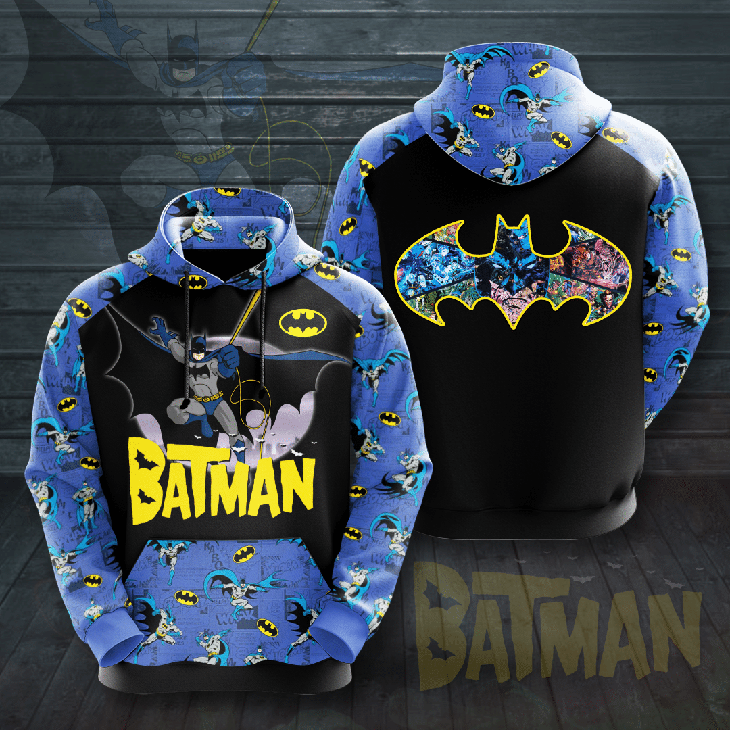 Batman 3d all over print Hoodie - LIMITED EDITION