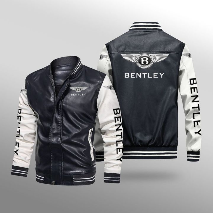 Bentley Leather Bomber Jacket - LIMITED EDITION