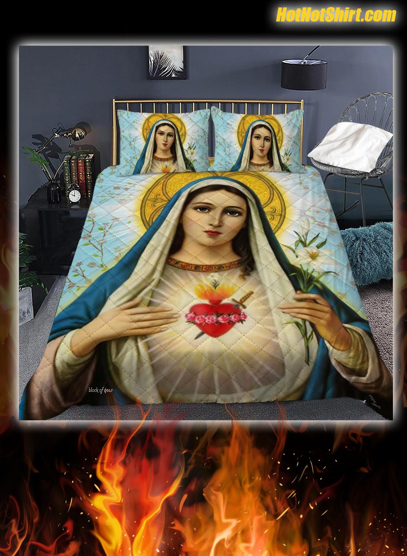 Blessed Virgin Mary Bedding Set