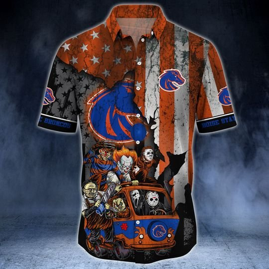 Boise State Broncos Summer Hawaiian Shirt -BBS