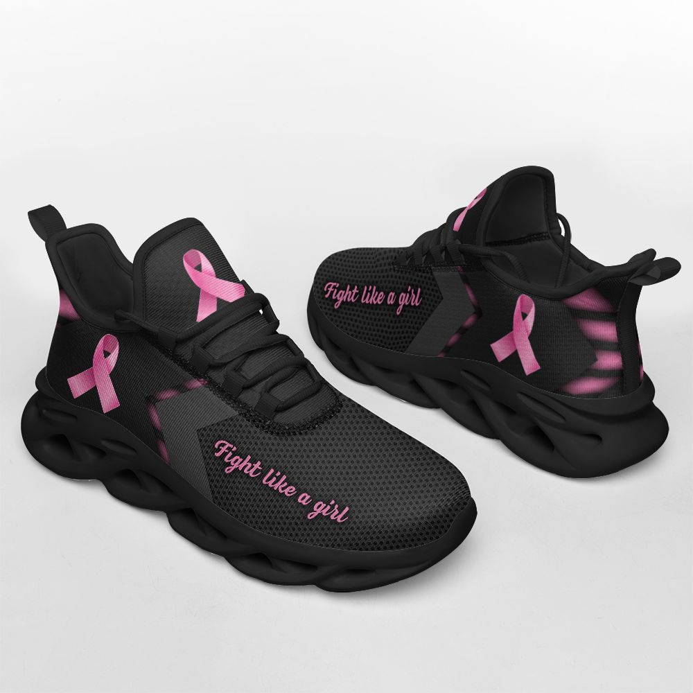 Breast cancer fight like a girl clunky max soul shoes - LIMITED EDITION