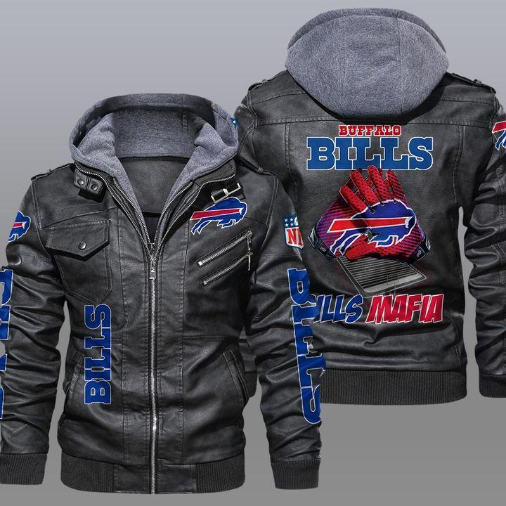 NFL Buffalo Bills leather jacket - LIMITED EDITION
