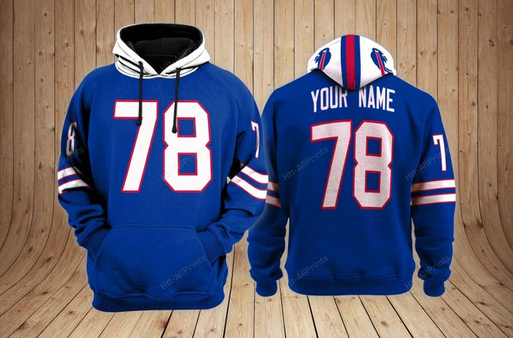 Buffalo bills custom name hoodie - LIMITED EDITION