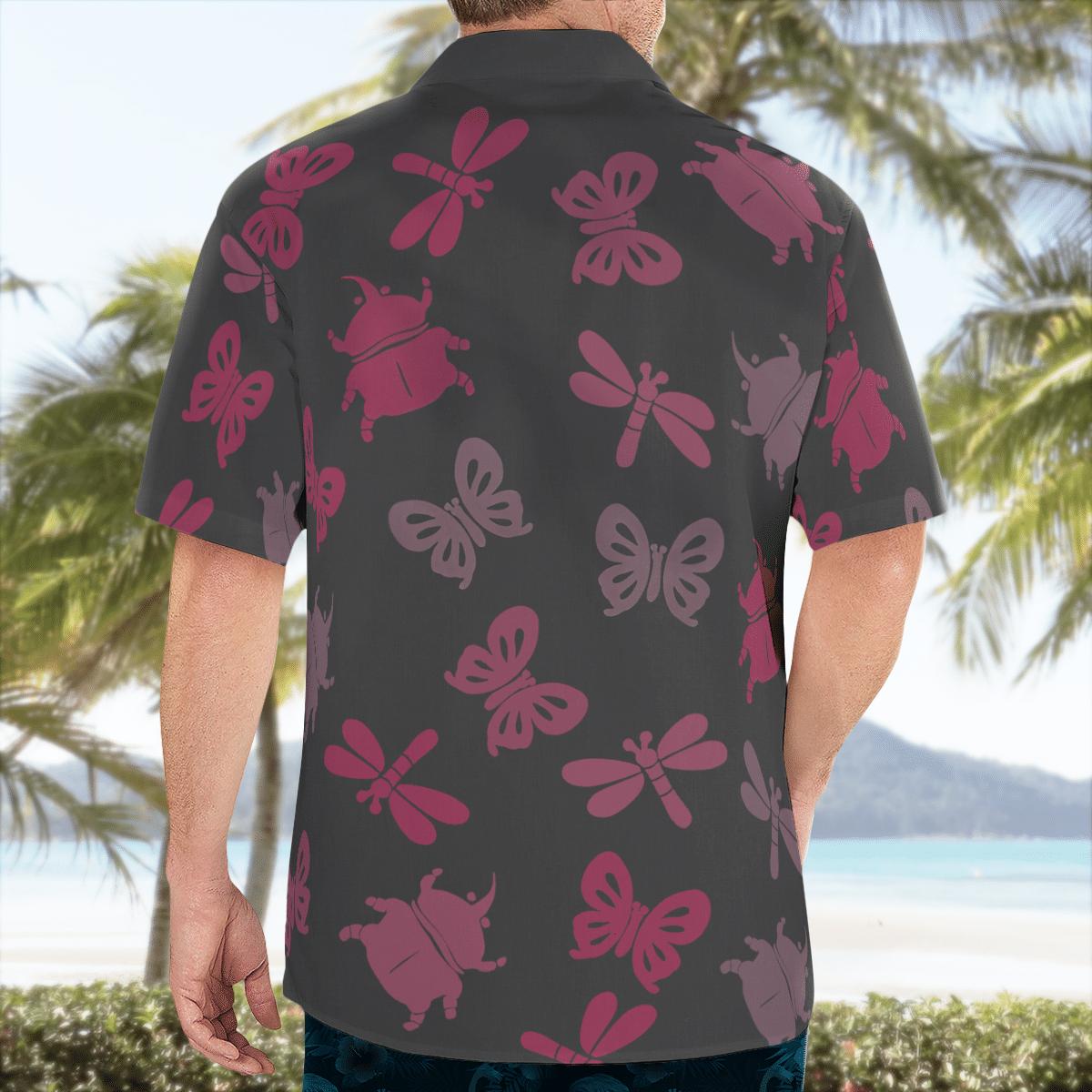 Bug off Aloha Hawaiian shirt and short - LIMITED EDITION