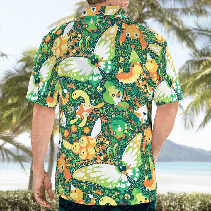 Bug pokémon hawaiian shirt - LIMITED EDITION