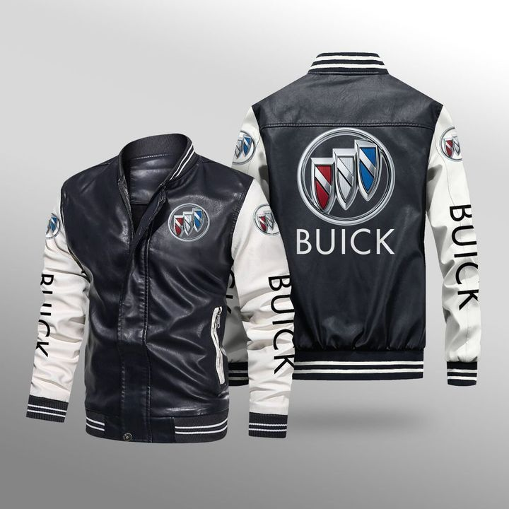 Buick Leather Bomber Jacket - LIMITED EDITION