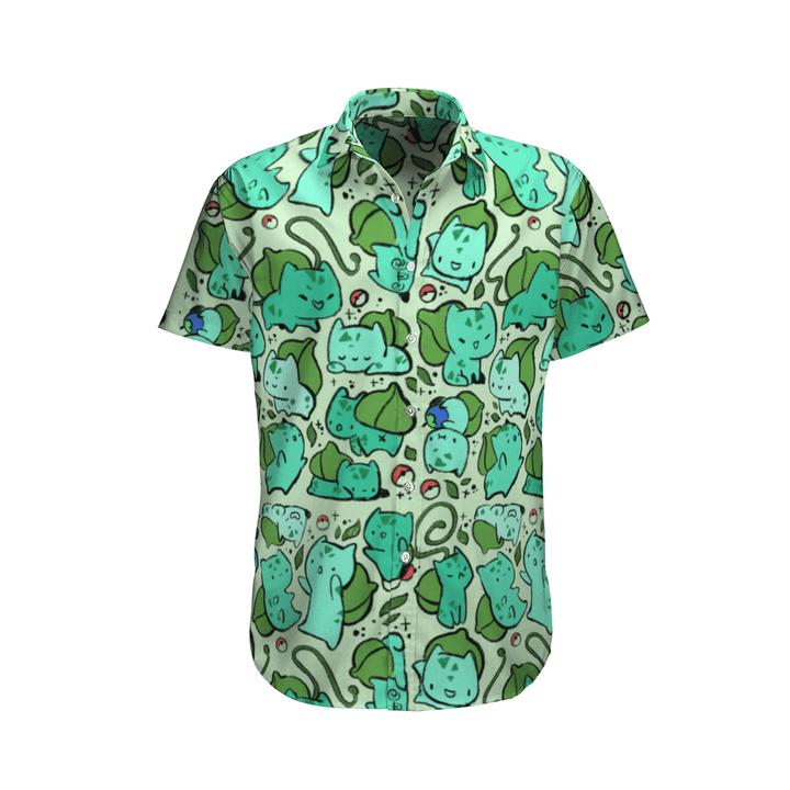 Bulbasaur tropical hawaiian shirt - LIMITED EDITION