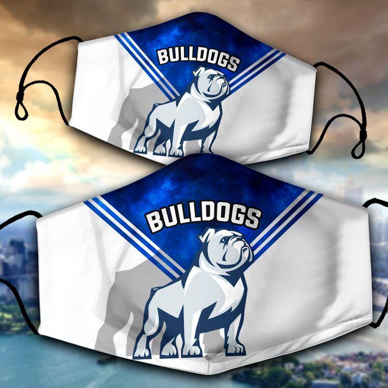 Bulldogs face mask