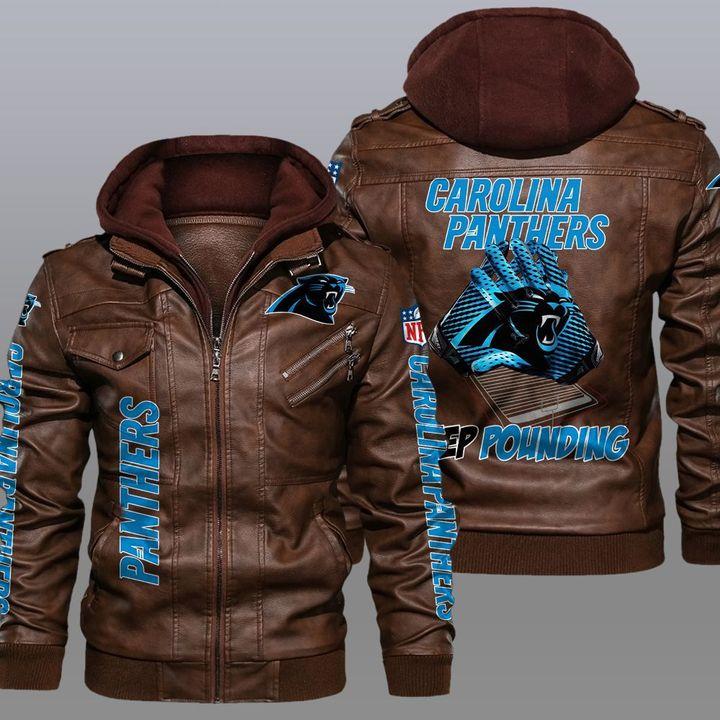 NFL Carolina Panthers leather jacket - LIMITED EDITION