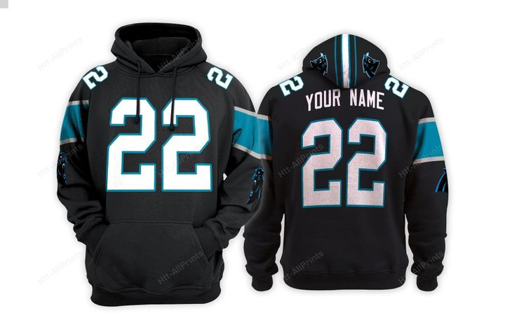 Carolina panthers custom name hoodie - LIMITED EDITION