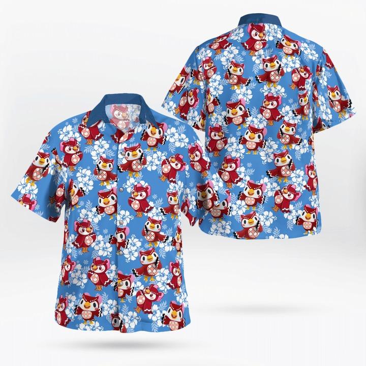 Celeste Hawaii Shirt - BBS