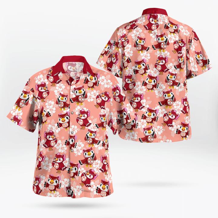 Celeste hawaiian shirt