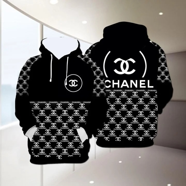 Channel 3D all over print Hoodie - BBS