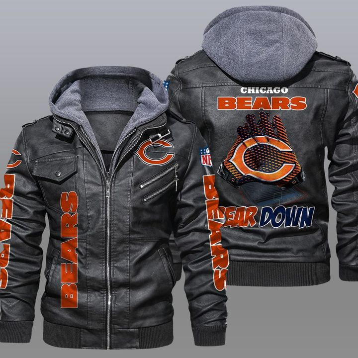 NFL Chicago Bears leather jacket - LIMITED EDITION
