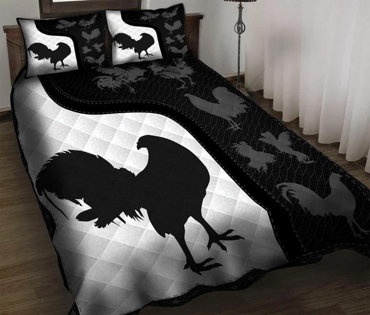Chicken fighting bedding set