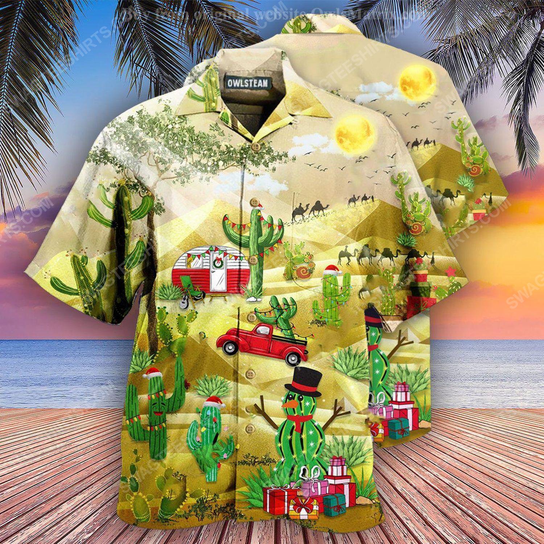 Christmas holiday life is better with cactus full print hawaiian shirt 1 - Copy (2)