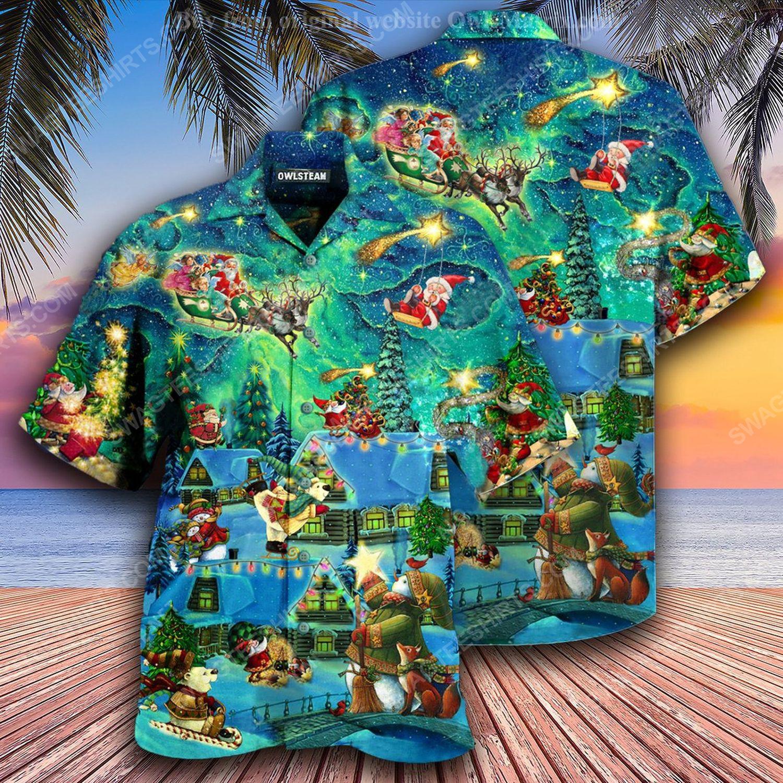 Christmas holiday the magical night full print hawaiian shirt 1 - Copy (2)