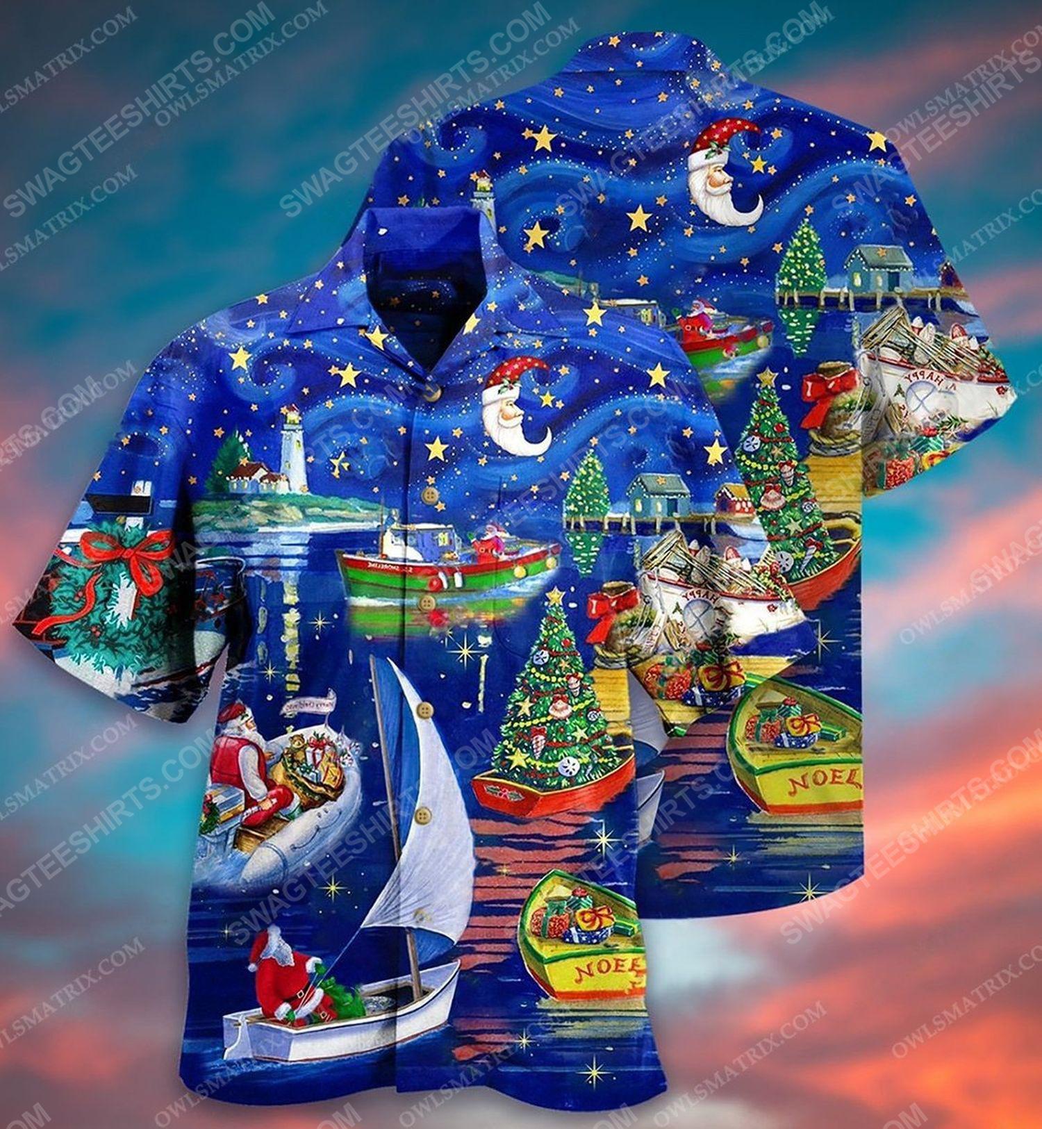 Christmas is coming full print hawaiian shirt 1 - Copy (2)