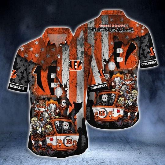Cincinnati Bengals Summer Hawaiian Shirt  -BBS